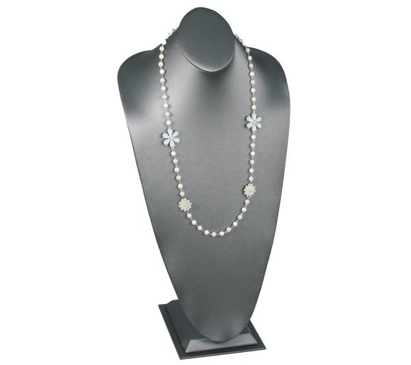 "Necklace Neckform Display 11"" x 8 7/8"" x 22"" H"