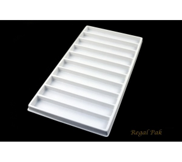 White Plastic Tray Liner (10 Section)