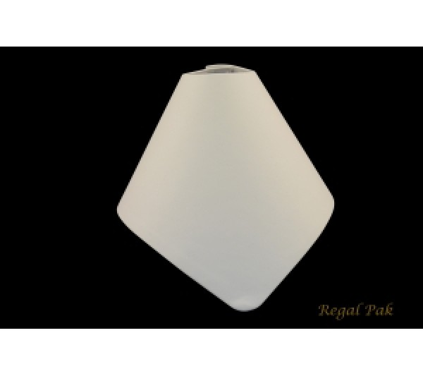 """White Collapsible Bust 7 1/4"""" X 8 1/2"""" X 4 7/8"""""""