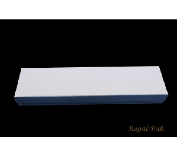 Glossy White  Cotton Filled Paper Box 8 (100 pcs)