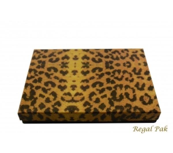 Leopard Cotton Filled Box 7 1/8 (100 pcs)