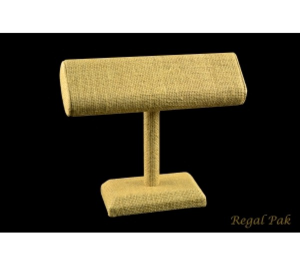 """Burlap Natrual One Level Display For Bracelet And Bangle 7-1/4"""" X 6-1/4""""H"""