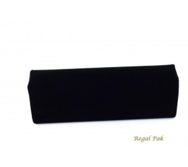 "Black Velvet Cuff Bracelet Display 7 3/4"" X 2 1/2"" X 2 1/8""H"