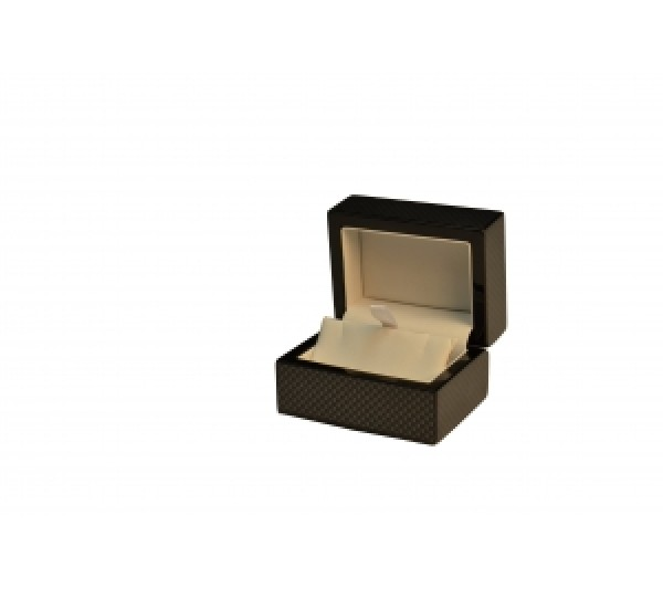"""Jackson Collection Wooden Earring Box 3 1/8"""" x 2 3/8"""" x 2 """" H"""