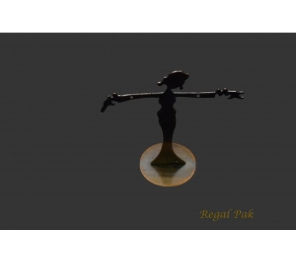 """Copper Dancer Earring Stand 2-3/8"""" X 2-1/2""""H"""