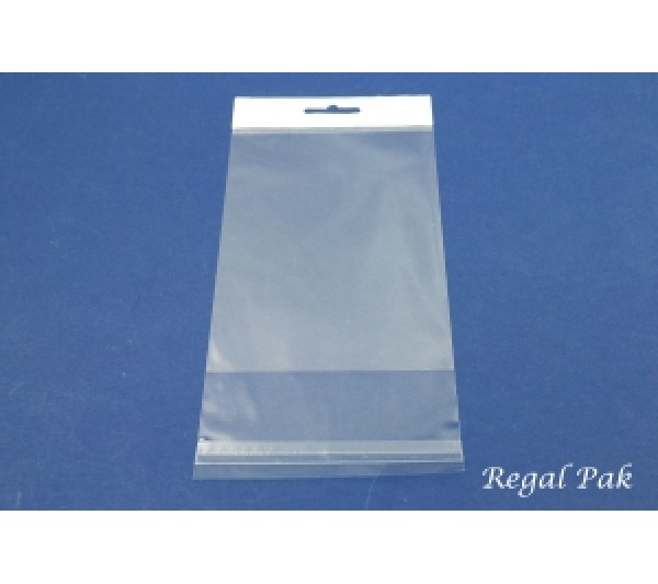 """Clear Opp Bag With Hanging Header (100 Pieces In A Pack) 4"""" X 6"""""""