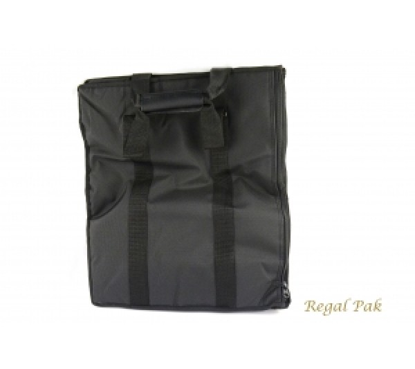 "Leatherette Soft Carrying Case 16"" X 9"" X 19""H"